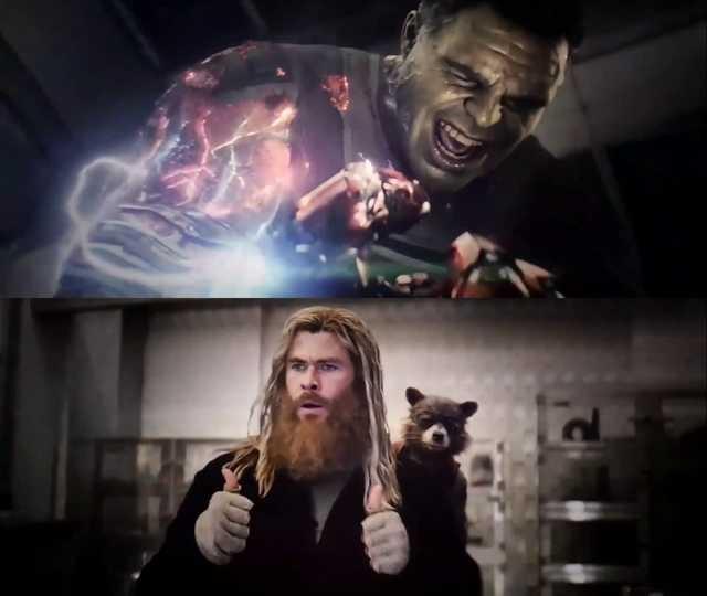 Thor Thumbs Up meme template