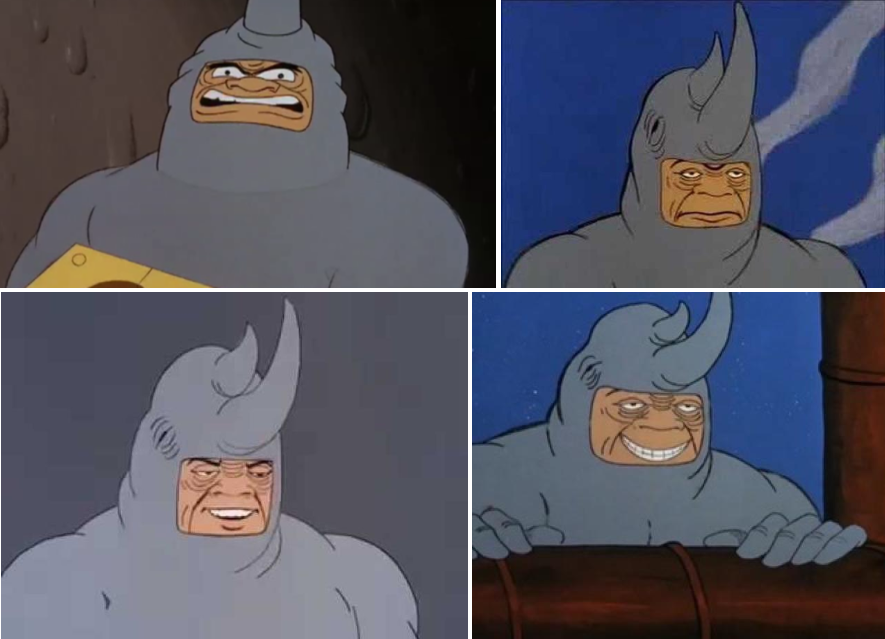 Rhino meme