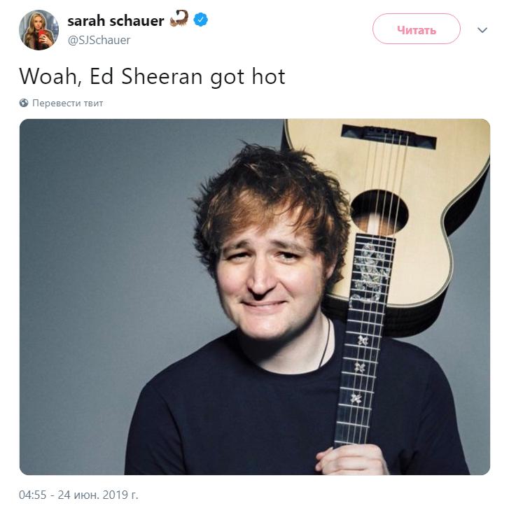 Эд Ширан стал сексуальным