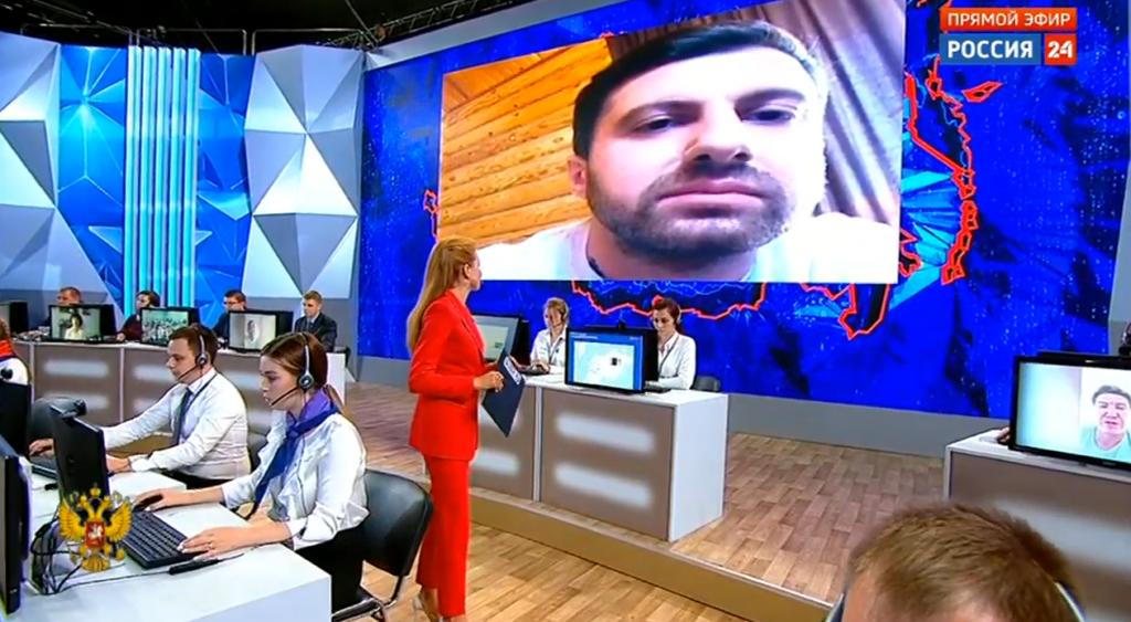 Амиран Сардаров на Прямой линии с президентом