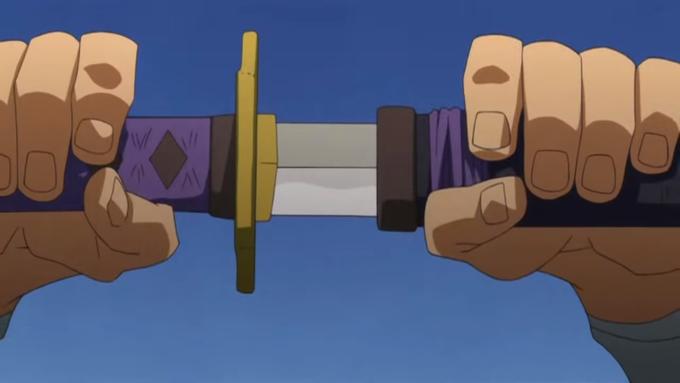 Мем с обнажением меча
