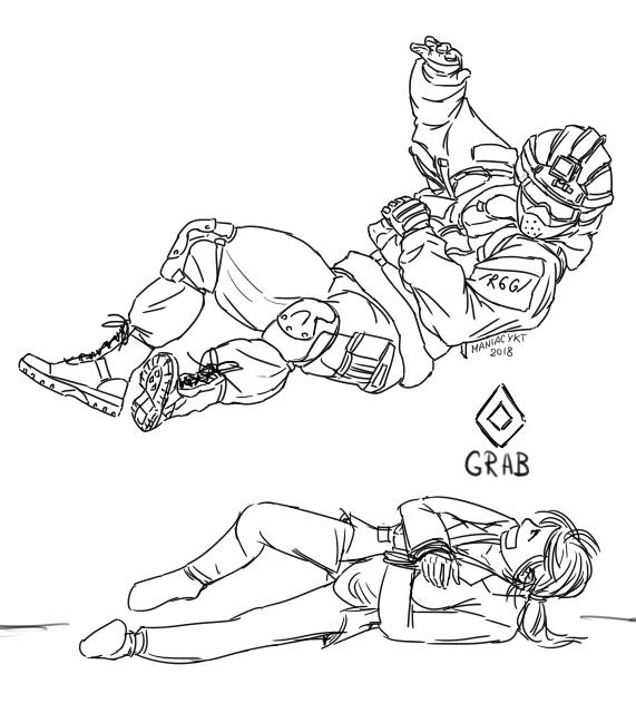 Фьюз прыгает на заложника