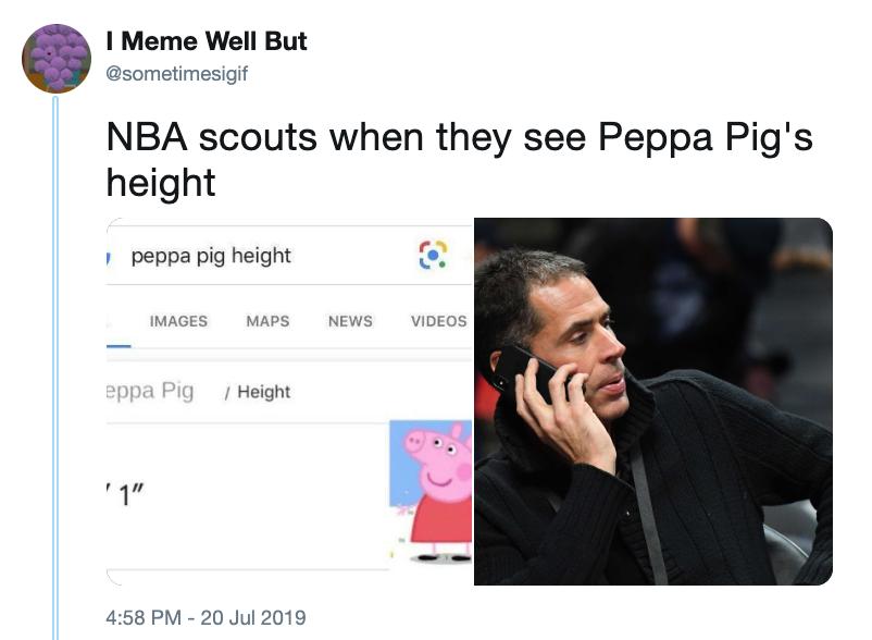 Какого роста Свинка Пеппа