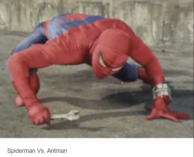 spiderman vs. antman