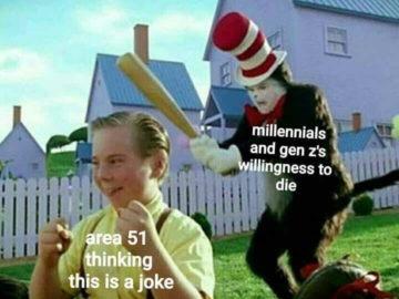Штурм Зоны 51 Storm Area 51 meme