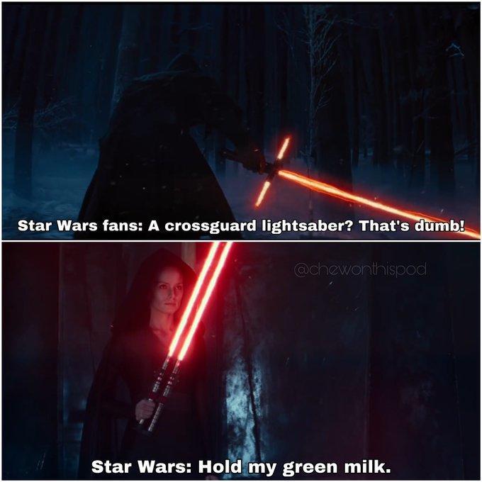 Рэй с двойным лазерным мечом