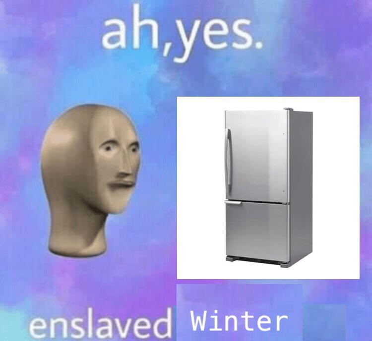 Порабощенная зима