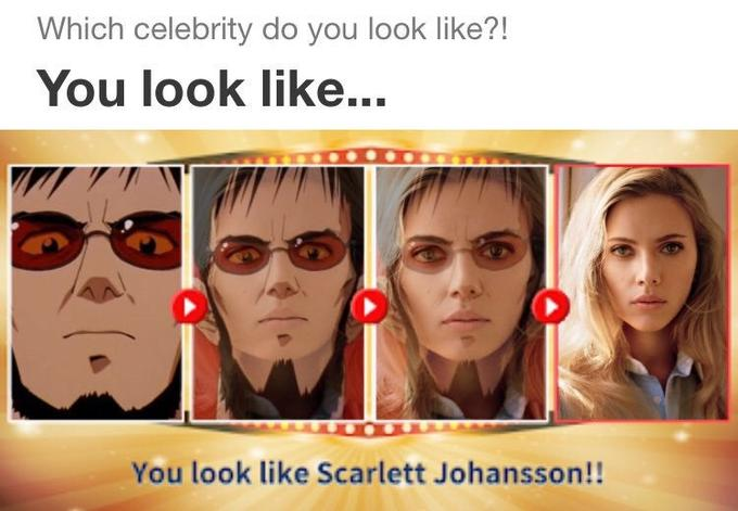 Which Celebrity Do You Look Like - korean test app became meme