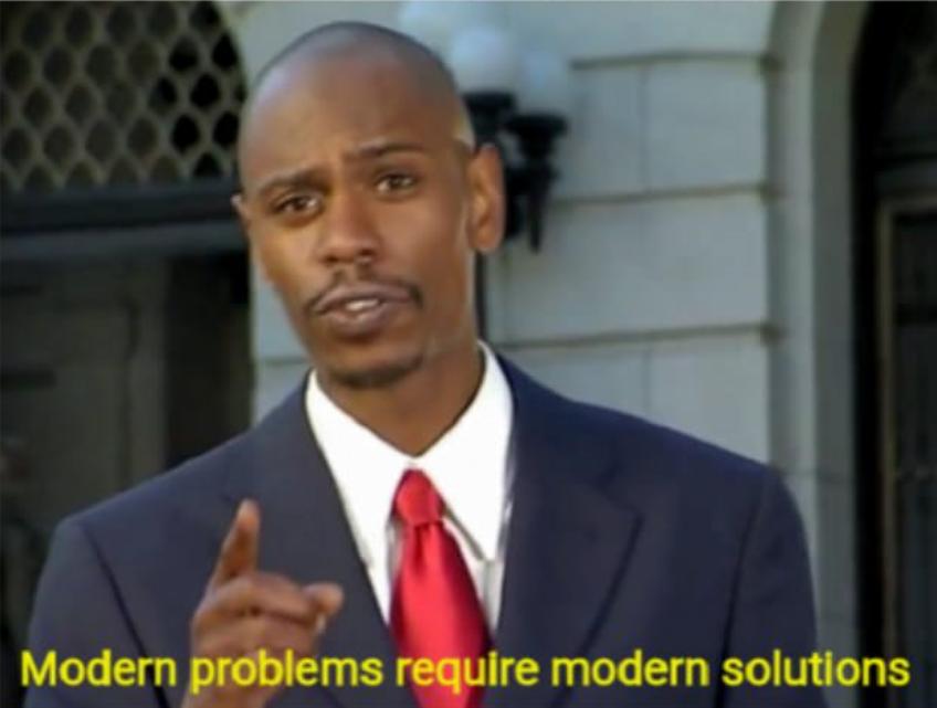 Современные проблемы требуют современных решений