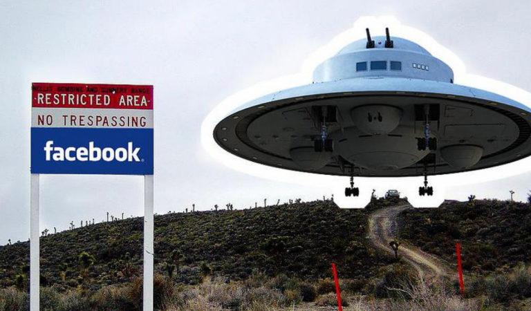 Facebook удалил страницу «Штурм Зоны 51»