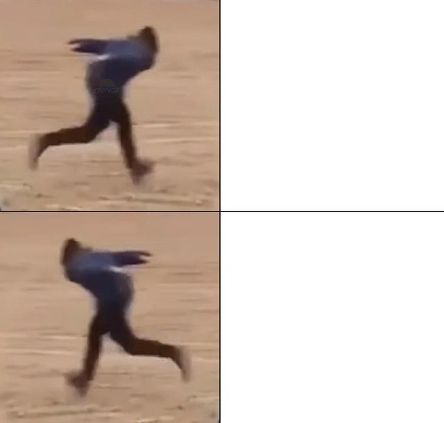 Бег Наруто мем