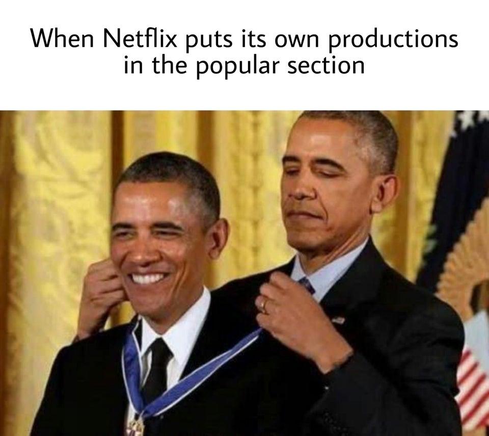 Обама награжадет Обаму медалью