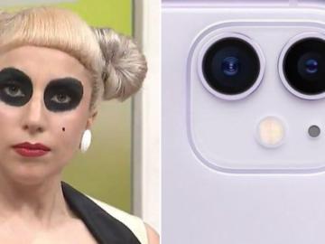 Леди Гага и айфоны