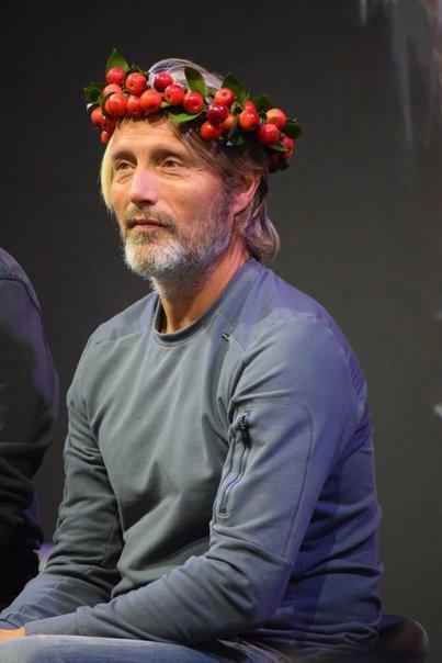 Мадс Миккельсен на Comic Con Russia