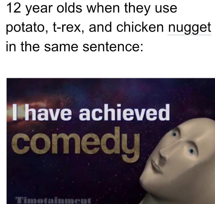 я достиг комедии