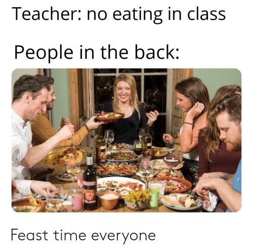 Back of the class meme