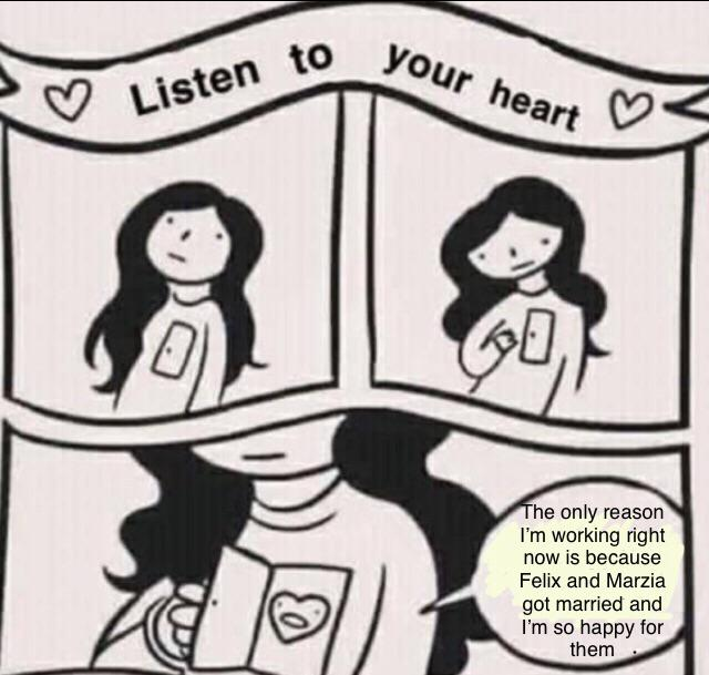 Listen to your heart meme