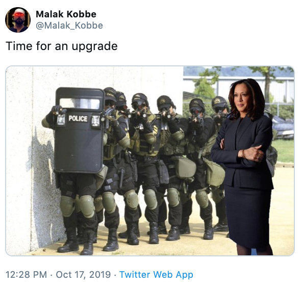 Камала Харрис мем