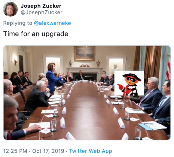 Трамп и Пелоси мемы