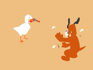 Untitled Goose Game мем