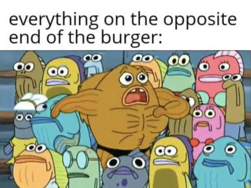Всё с другой стороны бургера