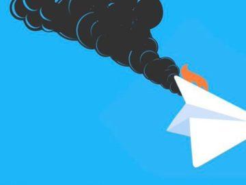 Телеграм глючит по всему миру