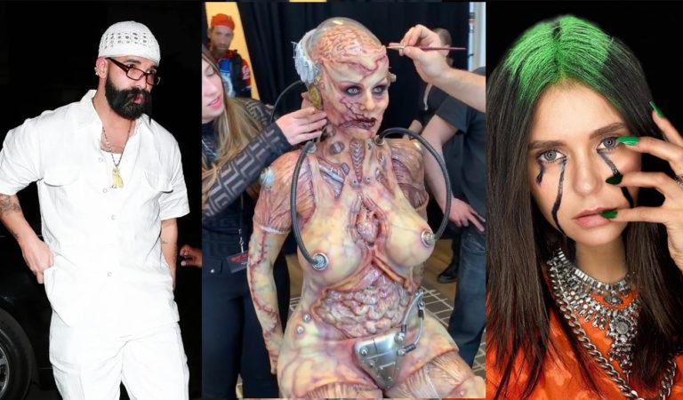 В каких костюмах были знаменитости на Хеллоуин 2019