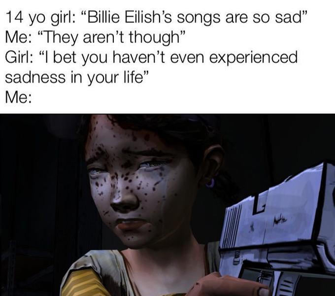 Песни Билли Айлиш такие грустные
