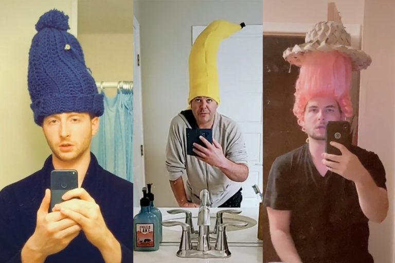 проносить еду в кино в огромных шапках