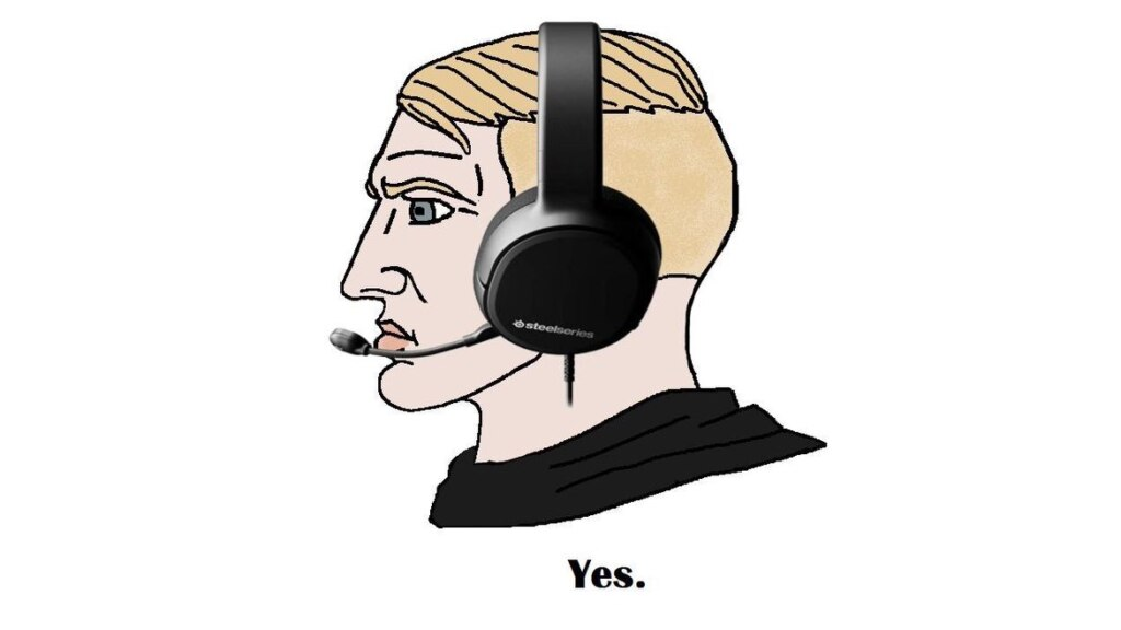 """Nordic Gamer - мем с бородатым мужчиной, который говорит """"Да"""""""