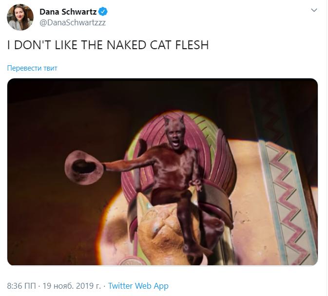 трейлер кошек