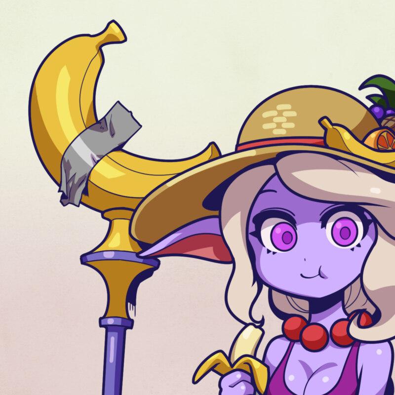 Приклеенный скотчем банан