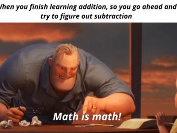 Математика есть математика