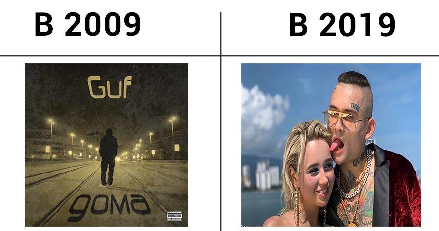 как изменился рэп за 10 лет