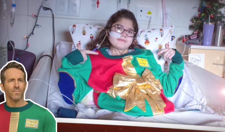 Уродливый свитер вернулся. Райан Рейнольдс использовал мем для помощи больным детям