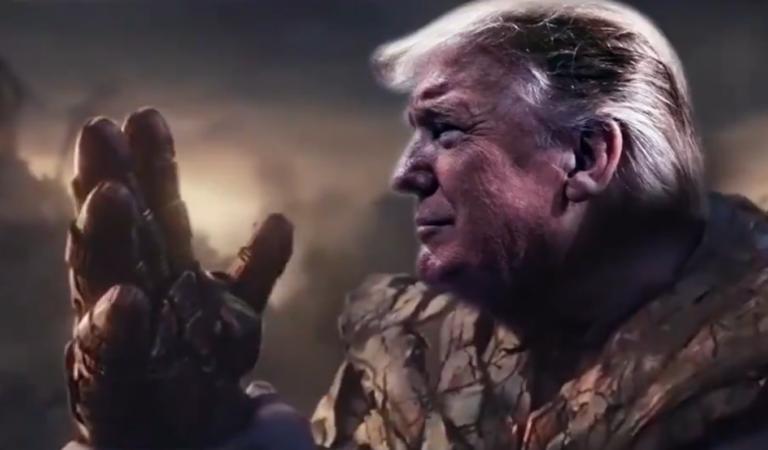 Трамп примерил перчатку Таноса, и это явный фейл. Создатель злодея объяснил, почему