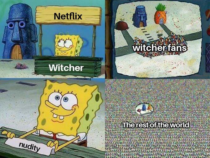 ведьмак мемы