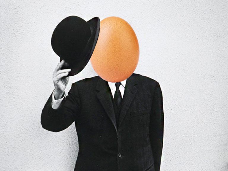 яйцо в инстаграме