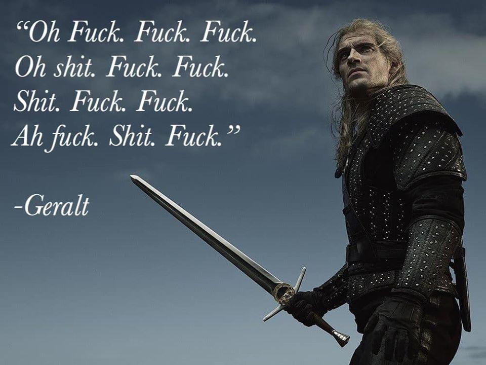 Геральт говорит Fuck