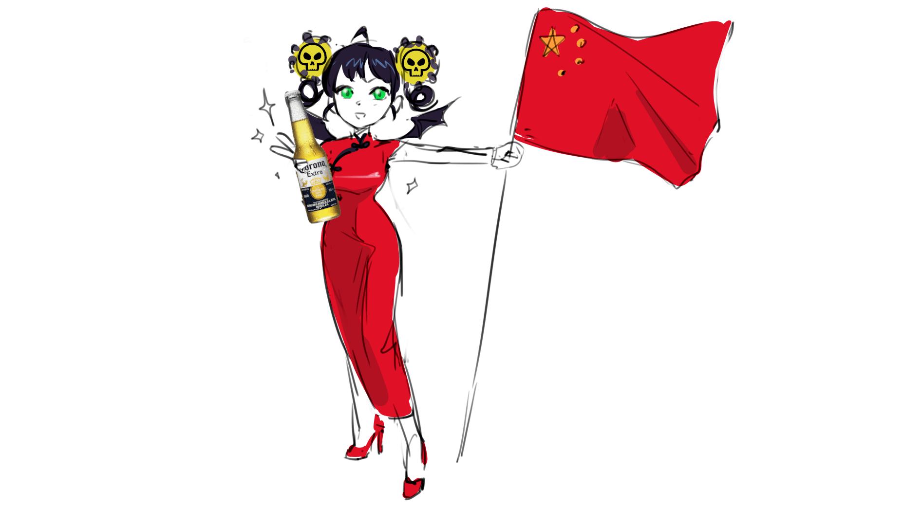 Корона-тян