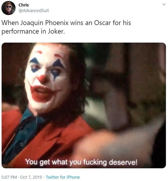 Ты получишь то что заслужил