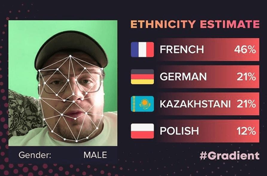 Gradient приложение национальность
