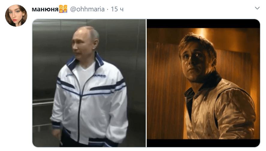 Путин в больнице с больными коронавирусом