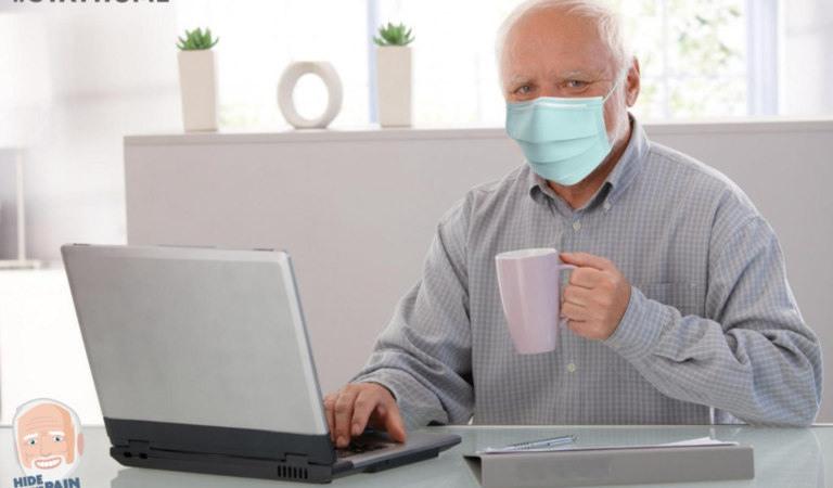 """""""Оставайтесь дома, создавайте мемы"""". Гарольд, скрывающий боль, обратился в связи с коронавирусом"""