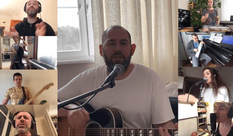 Слепаков записал песню про коронавирус с музыкантами на удаленке