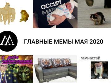 Главные мемы мая 2020