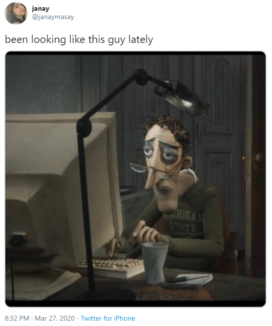 Charlie Jones On The Computer