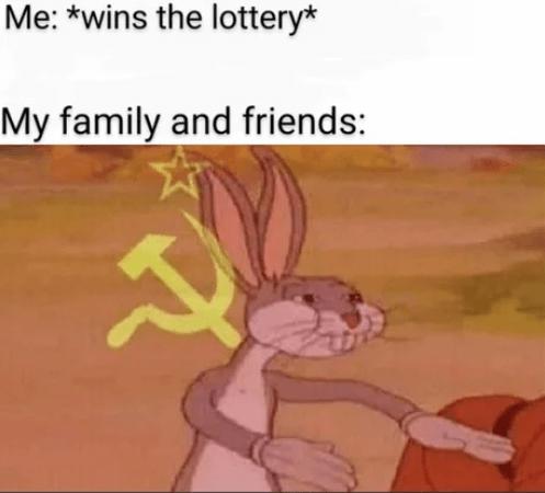 Багз Банни Коммунист мем