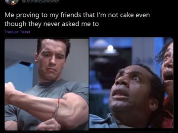 Все сделано из торта