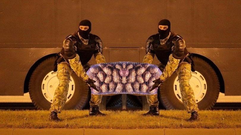 мемы с протестов в беларуси